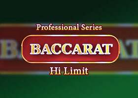 Baccarat Professional Series High Limit Baccarat
