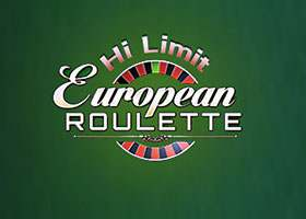 European Roulette Hi Limit Roulette