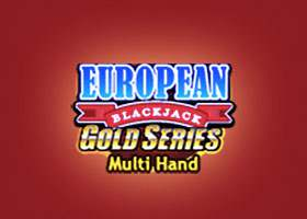 Multi-Hand European Blackjack Gold Blackjack